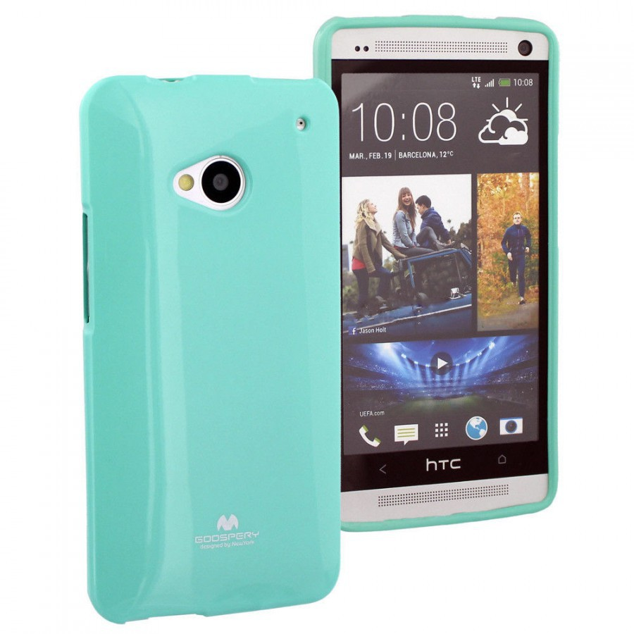 Купить TPU чехол Mercury Jelly Color series для HTC One / M7 за 175 грн
