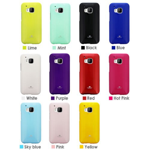 Фото TPU чехол Mercury Jelly Color series для HTC One / M9 (2 цвета) на itsell.ua