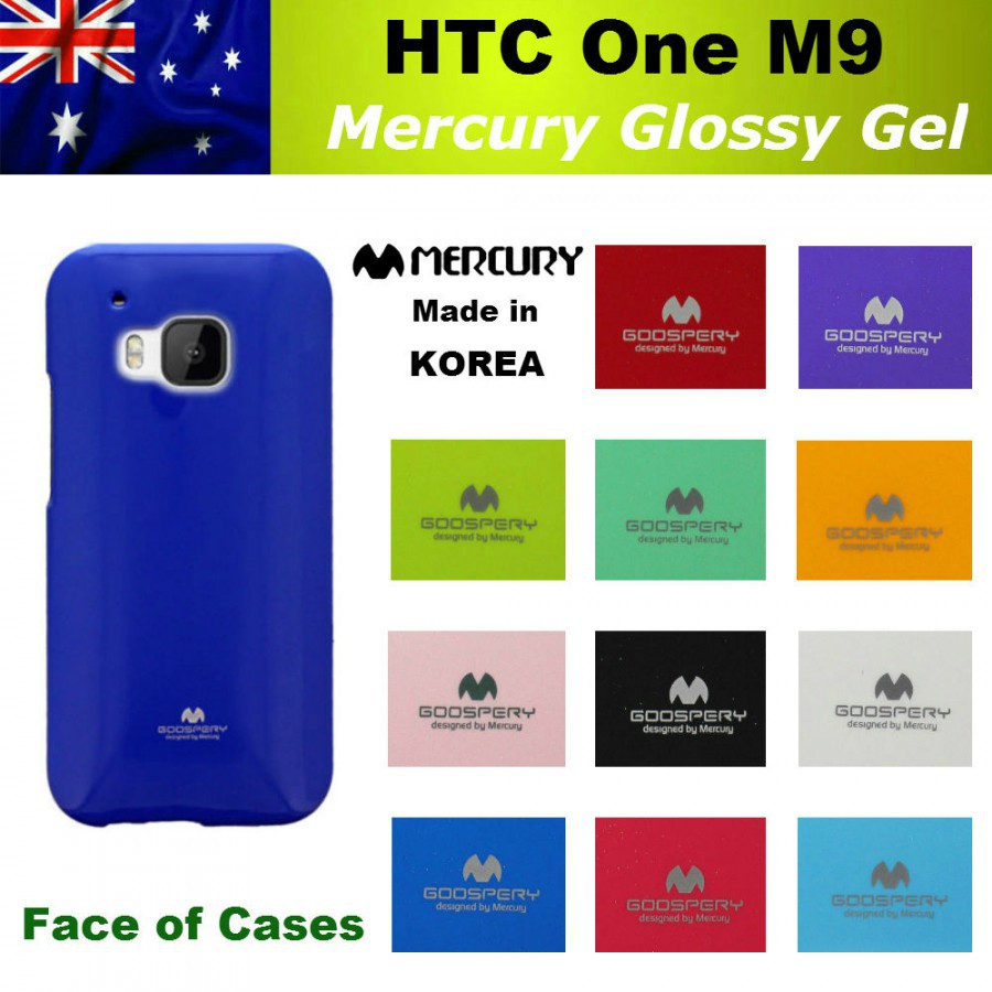 Купить TPU чехол Mercury Jelly Color series для HTC One / M9 (2 цвета) за 100 грн