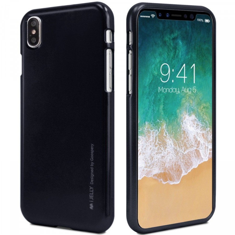 "TPU чехол Mercury iJelly Metal series для Apple iPhone X (5.8"") / XS (5.8"")"