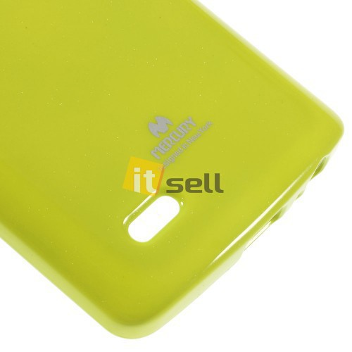 TPU чехол Mercury Jelly Color series для LG D855/D850/D856 Dual G3 Зеленый на itsell.ua