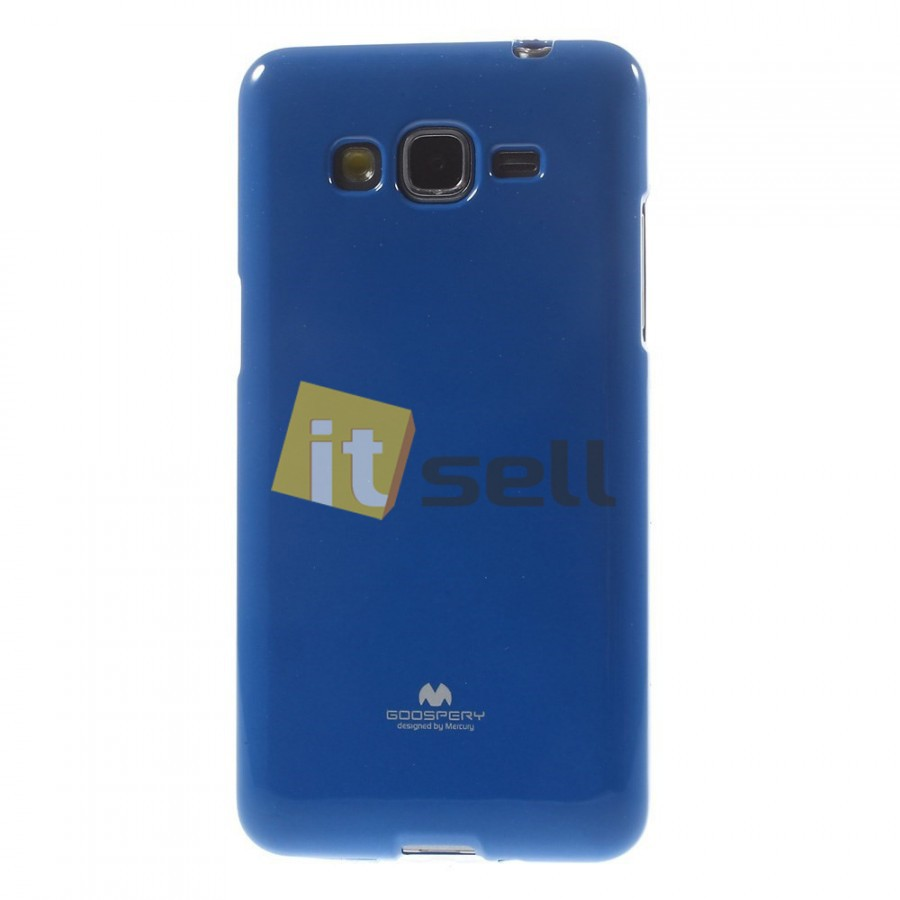 Фото TPU чехол Mercury Jelly Color series для Samsung G530H/G531H Galaxy Grand Prime Синий на itsell.ua