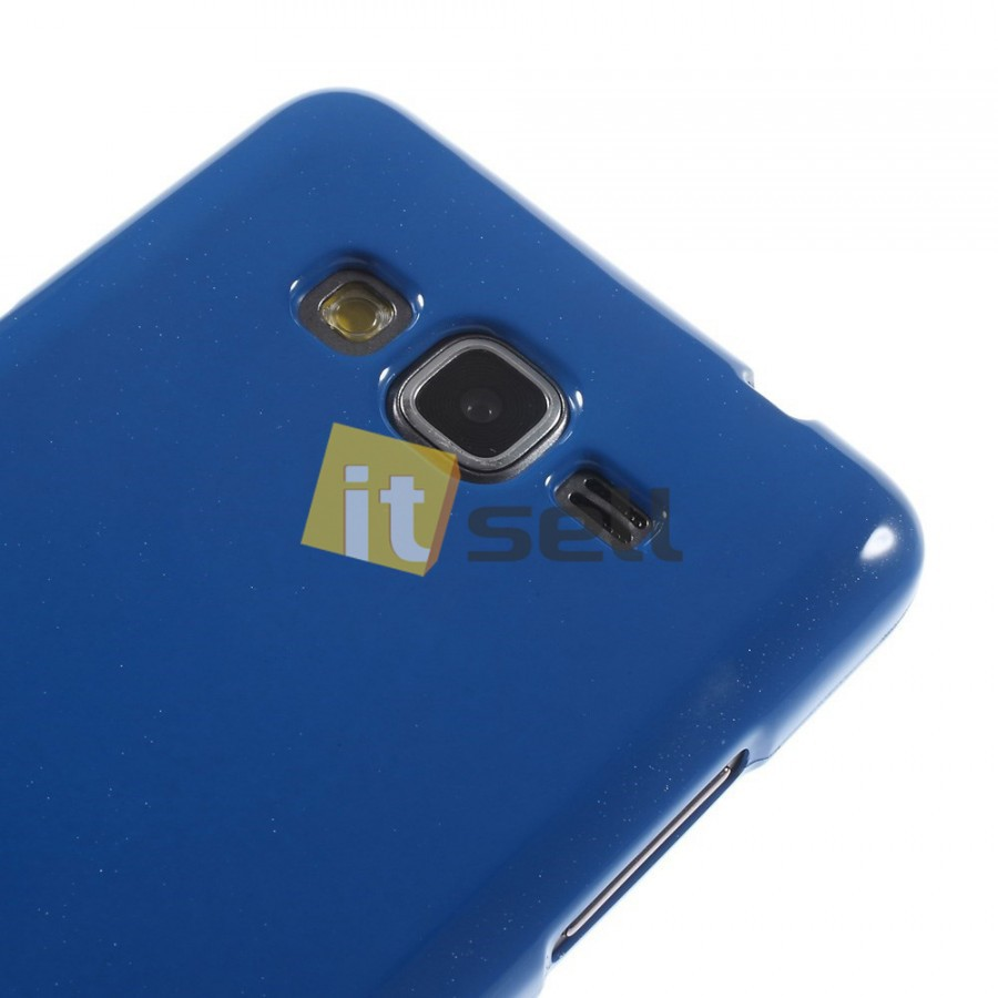Фото TPU чехол Mercury Jelly Color series для Samsung G530H/G531H Galaxy Grand Prime Синий в магазине itsell.ua