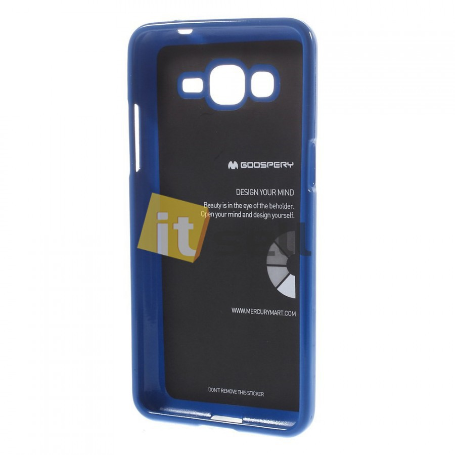 TPU чехол Mercury Jelly Color series для Samsung G530H/G531H Galaxy Grand Prime Синий на itsell.ua