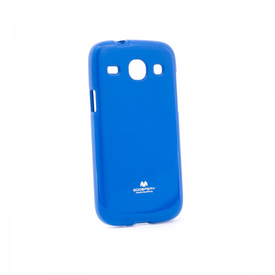 Фото TPU чехол Mercury Jelly Color series для Samsung i8262 Galaxy Core Синий на itsell.ua
