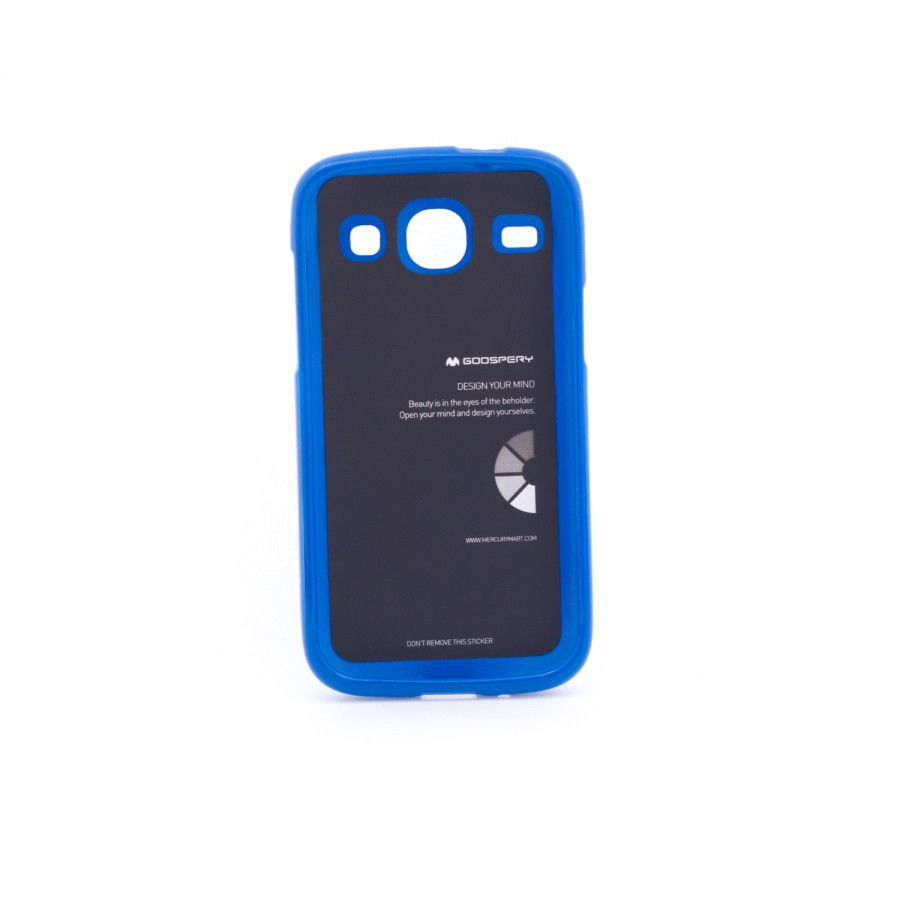 Фото TPU чехол Mercury Jelly Color series для Samsung i8262 Galaxy Core Синий в магазине itsell.ua