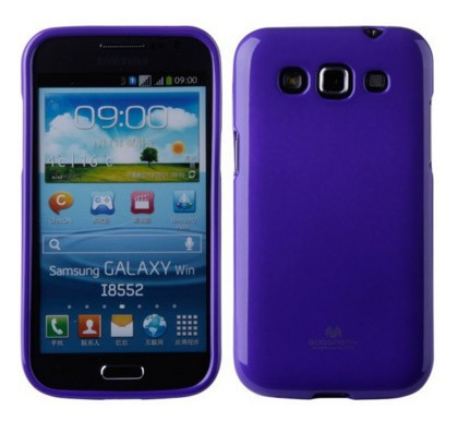 Купить TPU чехол Mercury Jelly Color series для Samsung i8552 Galaxy Win за 175 грн
