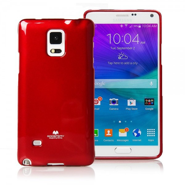 Купить TPU чехол Mercury Jelly Color series для Samsung N910H Galaxy Note 4 за 175 грн