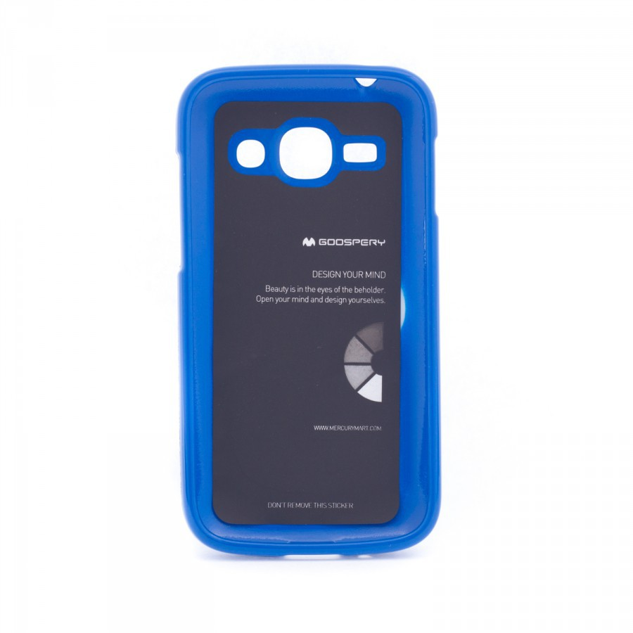 Фото TPU чехол Mercury Jelly Color series для Samsung s7272 Galaxy Ace 3 Синий в магазине itsell.ua