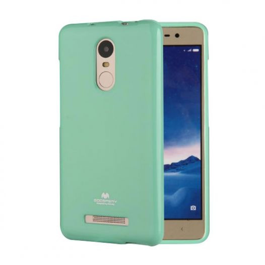 Фото TPU чехол Mercury Jelly Color series для Xiaomi Redmi Note 4 (MTK) (8 цветов) на itsell.ua