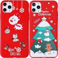 """Пластиковая накладка Merry Christmas для Apple iPhone 11 Pro Max (6.5"""")"""