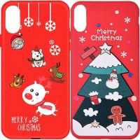 """Пластиковая накладка Merry Christmas для Apple iPhone XR (6.1"""")"""