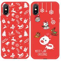 """Пластиковая накладка Merry Christmas для Apple iPhone XS (5.8"""")"""
