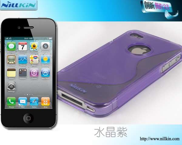 Купить TPU чехол Nillkin для Apple iPhone 4S (+ пленка) за 0 грн