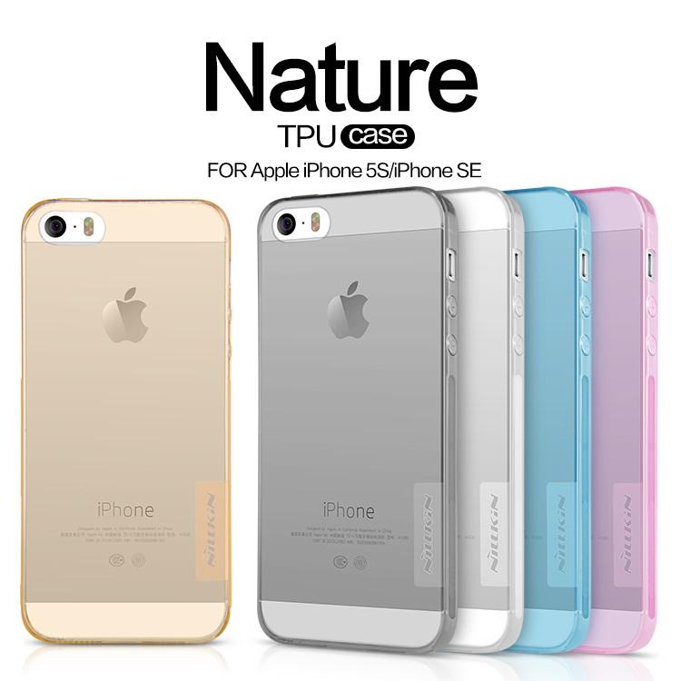 TPU чехол Nillkin Nature Series для Apple iPhone 5 5S SE (2 цвета ... afa832fc27bfa