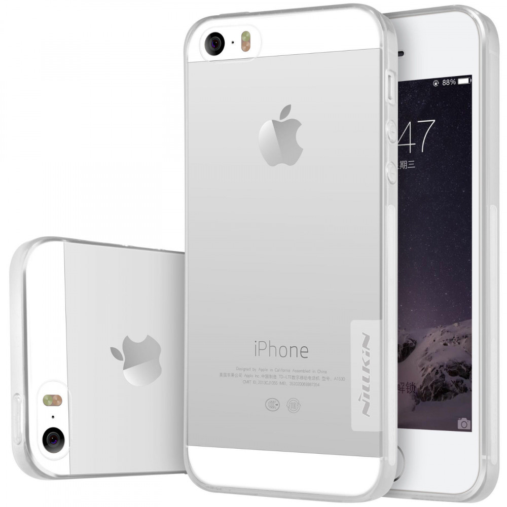 Купить TPU чехол Nillkin Nature Series для Apple iPhone 5/5S/SE за 239 грн