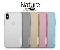 "TPU чехол Nillkin Nature Series для Apple iPhone X (5.8"") / XS (5.8"")"