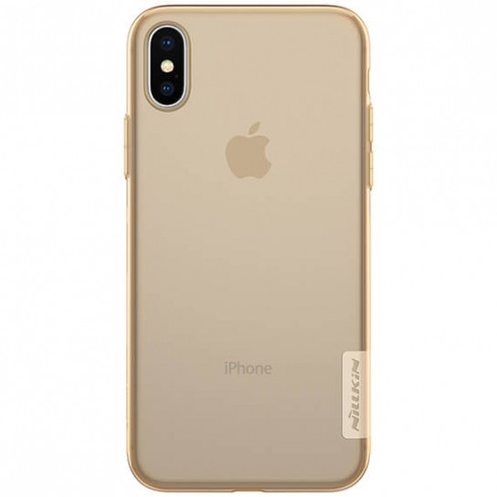 Фото TPU чехол Nillkin Nature Series для Apple iPhone X (5.8