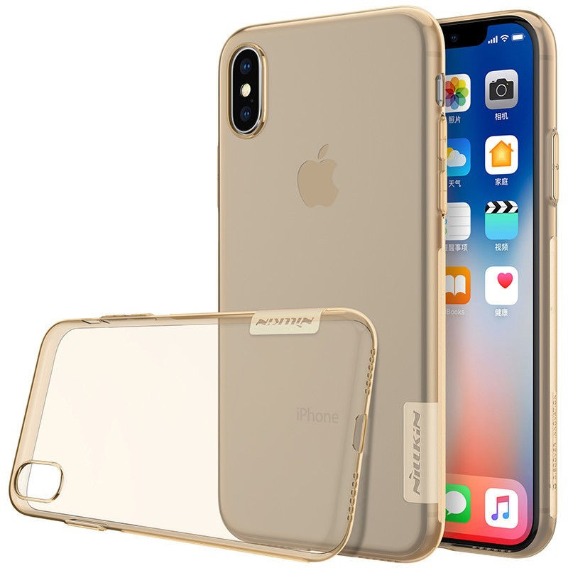 Купить TPU чехол Nillkin Nature Series для Apple iPhone X (5.8') / XS (5.8') за 249 грн
