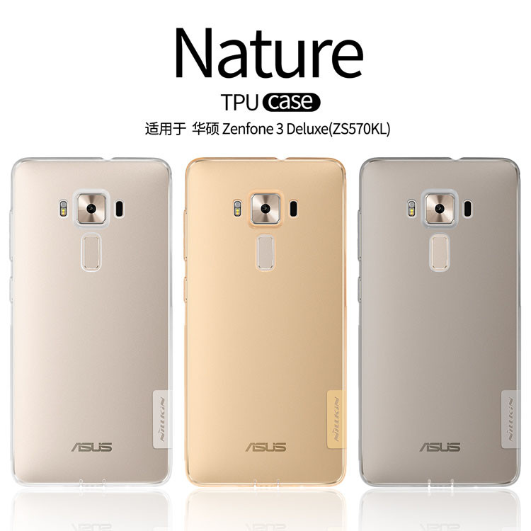 TPU чехол Nillkin Nature Series для Asus Zenfone 3 Deluxe (ZS570KL)