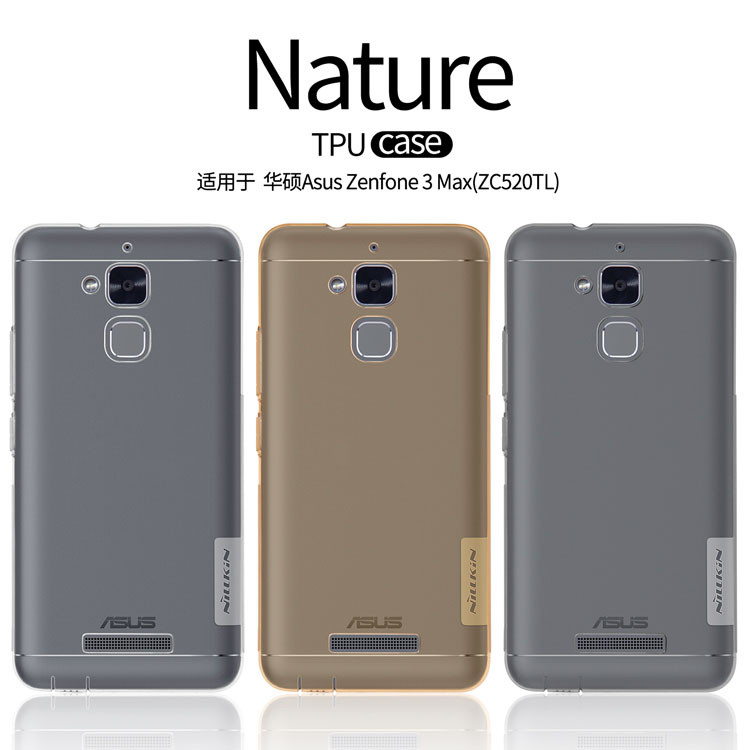Купить TPU чехол Nillkin Nature Series для Asus Zenfone 3 (ZE520KL) (1 цвет) за 249 грн