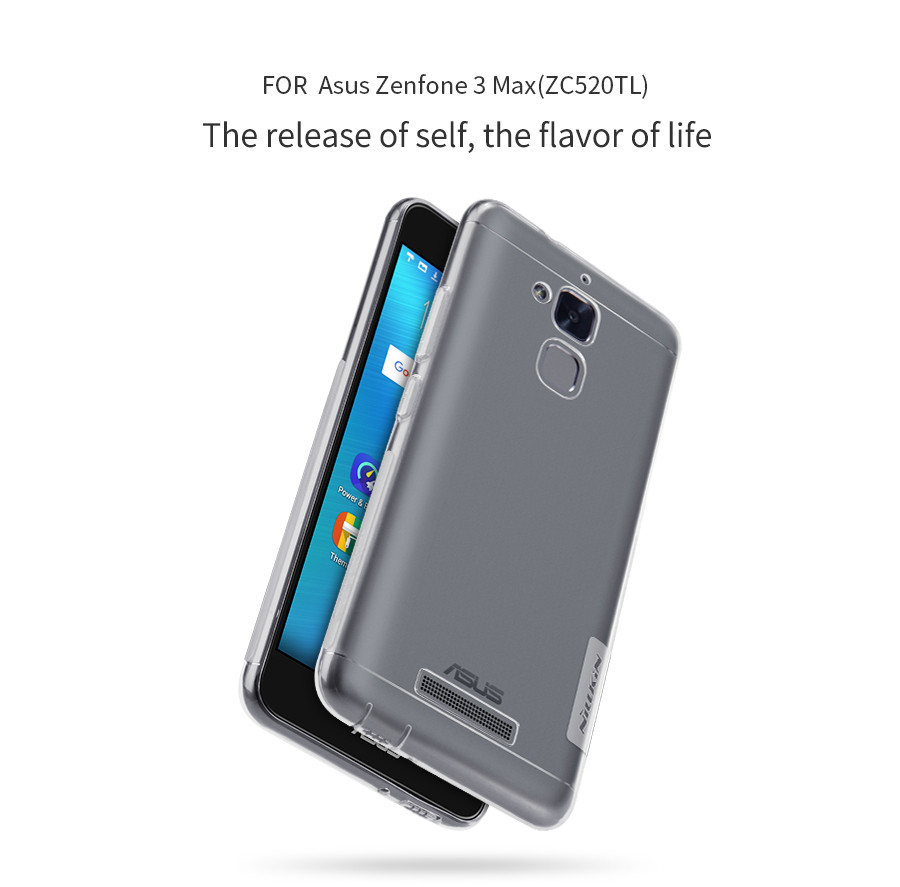 TPU чехол Nillkin Nature Series для Asus Zenfone 3 (ZE520KL) (1 цвет) в магазине itsell.ua