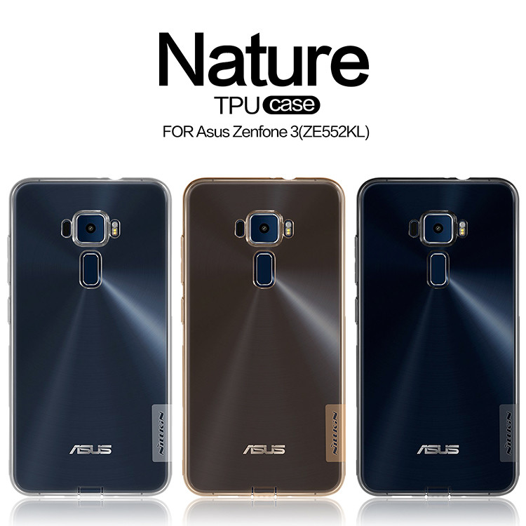 Купить TPU чехол Nillkin Nature Series для Asus Zenfone 3 (ZE552KL) (1 цвет) за 249 грн