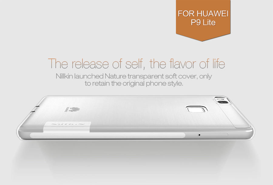 Фото TPU чехол Nillkin Nature Series для Huawei P9 Lite (1 цвет) на itsell.ua