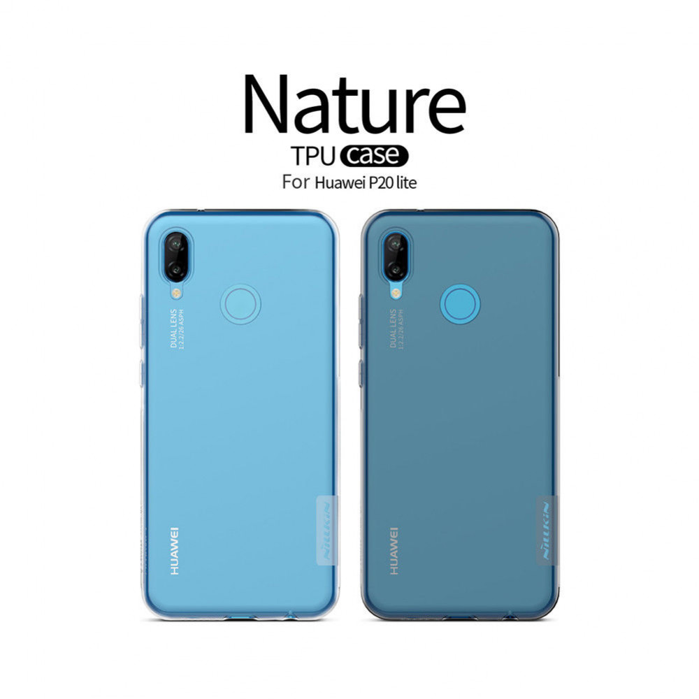 TPU чехол Nillkin Nature Series для Huawei P20 Lite