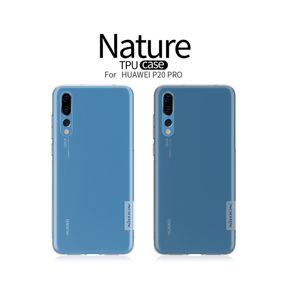 TPU чохол Nillkin Nature Series для Huawei P20 Pro