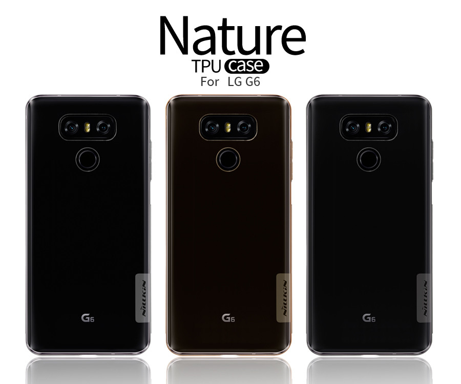 Купить TPU чехол Nillkin Nature Series для LG G6 / G6 Plus H870 / H870DS (1 цвет) за 249 грн