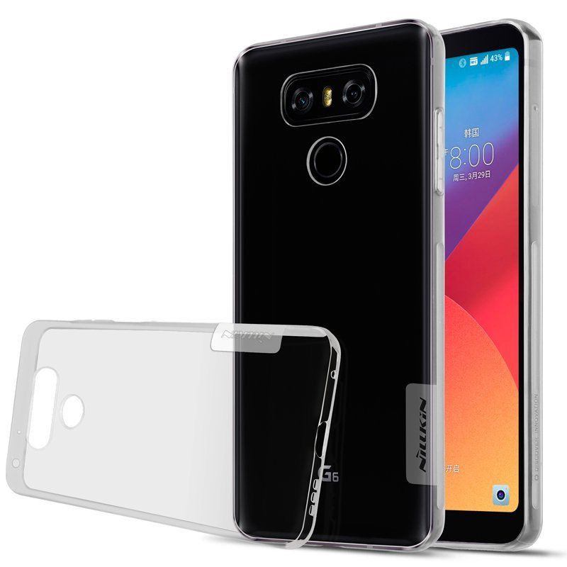 Фото TPU чехол Nillkin Nature Series для LG G6 / G6 Plus H870 / H870DS (1 цвет) на itsell.ua