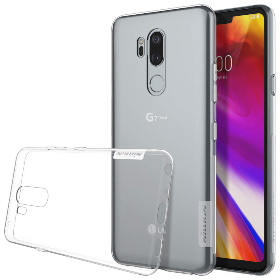 Купить TPU чехол Nillkin Nature Series для LG G7+ / LG G7 ThinQ (2 цвета) на itsell.ua