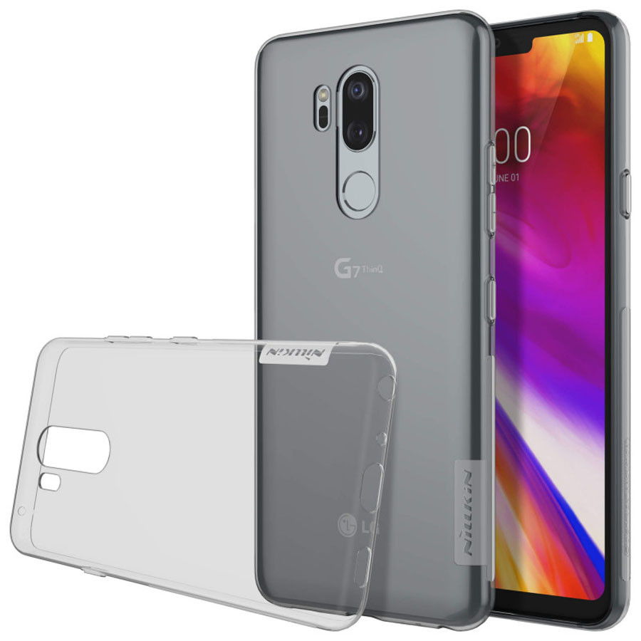 Фото TPU чехол Nillkin Nature Series для LG G7+ / LG G7 ThinQ (2 цвета) на itsell.ua