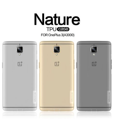 TPU чохол Nillkin Nature Series для OnePlus 3 / OnePlus 3T
