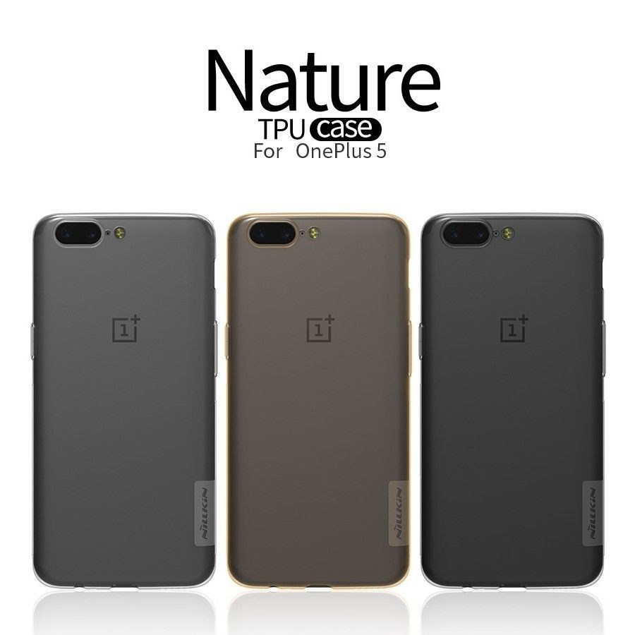 Купить TPU чехол Nillkin Nature Series для OnePlus 5 (2 цвета) за 209 грн