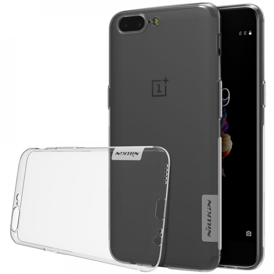 Фото TPU чехол Nillkin Nature Series для OnePlus 5 (2 цвета) на itsell.ua