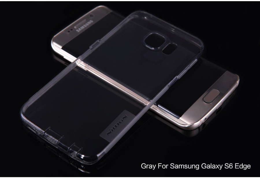 Купить TPU чехол Nillkin Nature Series для Samsung G925F Galaxy S6 Edge за 189 грн