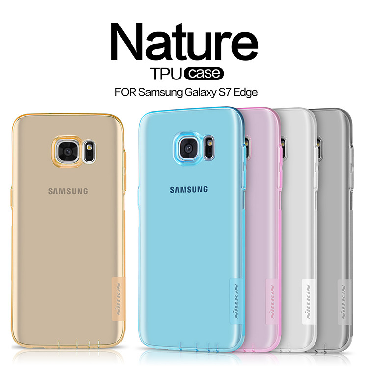TPU чохол Nillkin Nature Series для Samsung Galaxy S7 Edge (G935F)
