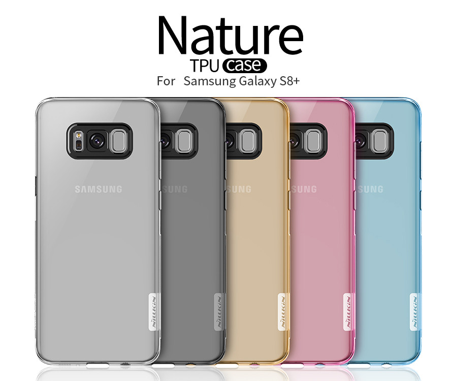Купить TPU чехол Nillkin Nature Series для Samsung G955 Galaxy S8 Plus (3 цвета) за 249 грн