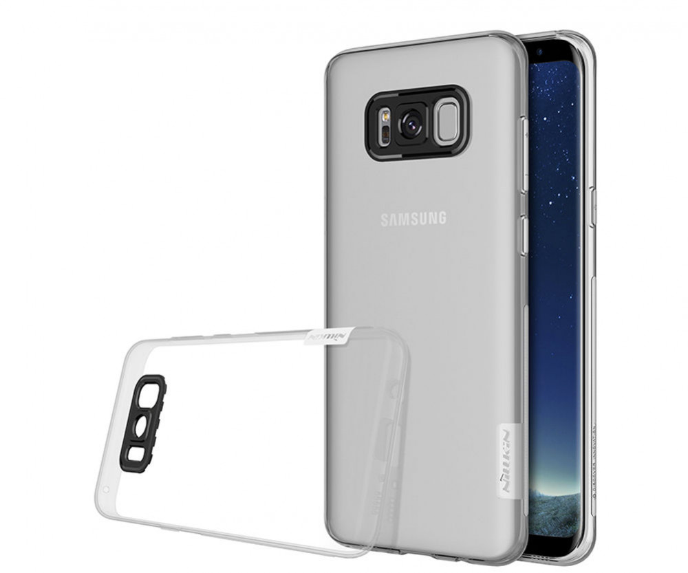 Фото TPU чехол Nillkin Nature Series для Samsung G955 Galaxy S8 Plus (3 цвета) на itsell.ua