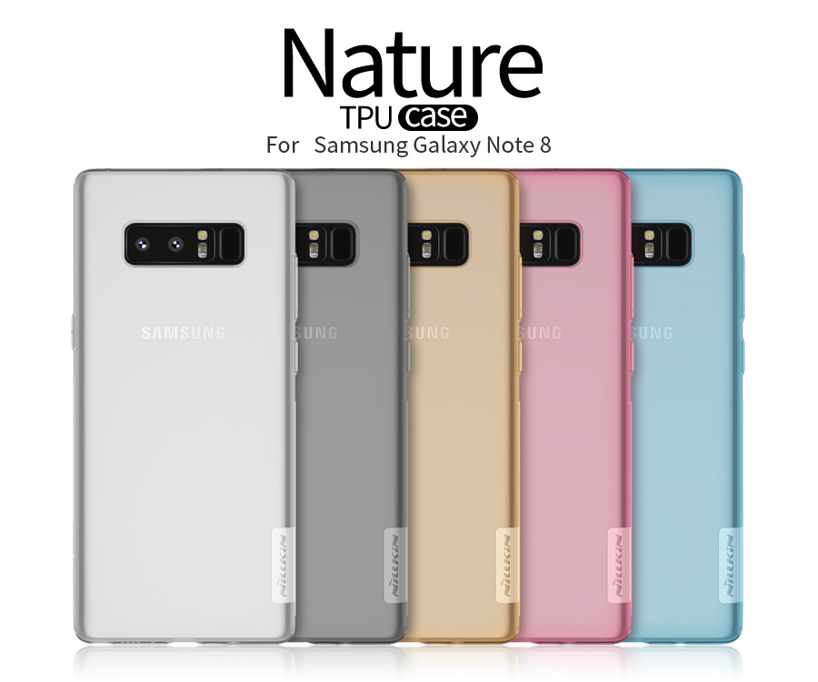 Купить TPU чехол Nillkin Nature Series для Samsung Galaxy Note 8 (1 цвет) за 249 грн