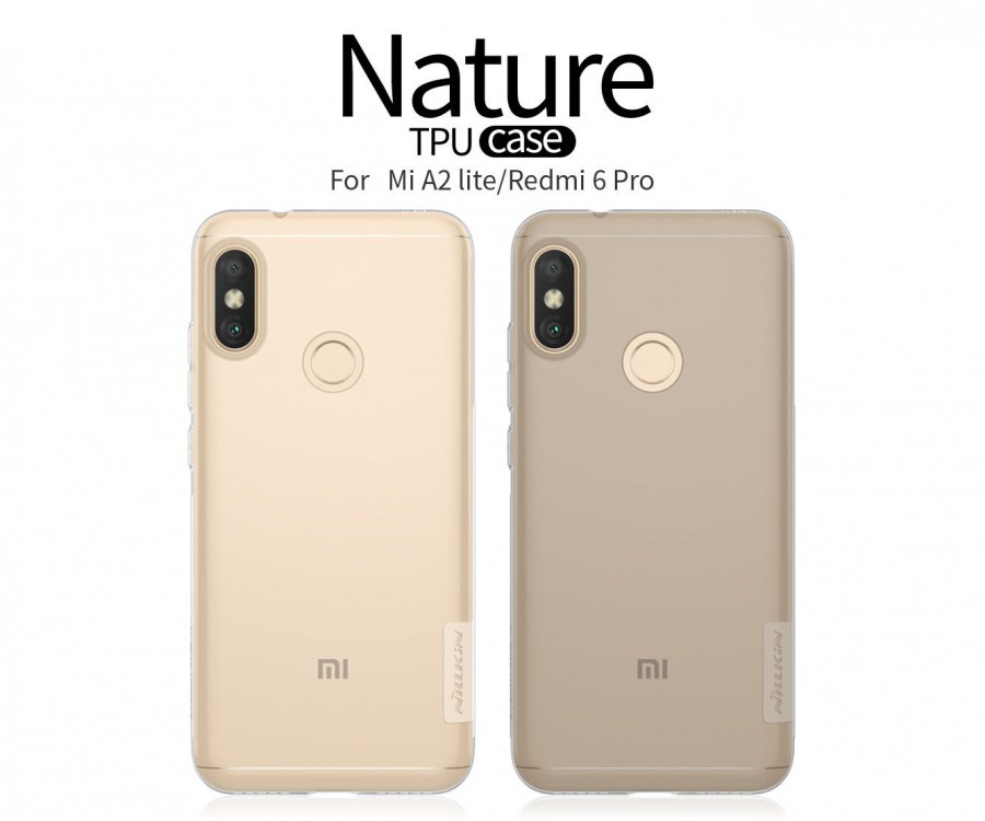 Купить TPU чехол Nillkin Nature Series для Xiaomi Mi A2 Lite (2 цвета) за 249 грн