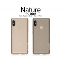 TPU чехол Nillkin Nature Series для Xiaomi Redmi Note 5 Pro / Note 5 (DC)