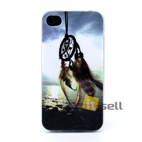 Купить TPU чехол Print 'Dream Catcher & Sea' для Apple iPhone 4/4S за 99 грн