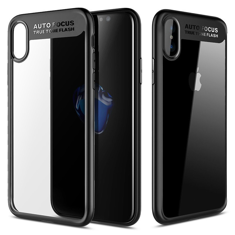 Купить TPU чехол Rock Clarity Series для Apple iPhone X (5.8') / XS (5.8') (2 цвета) за 299 грн