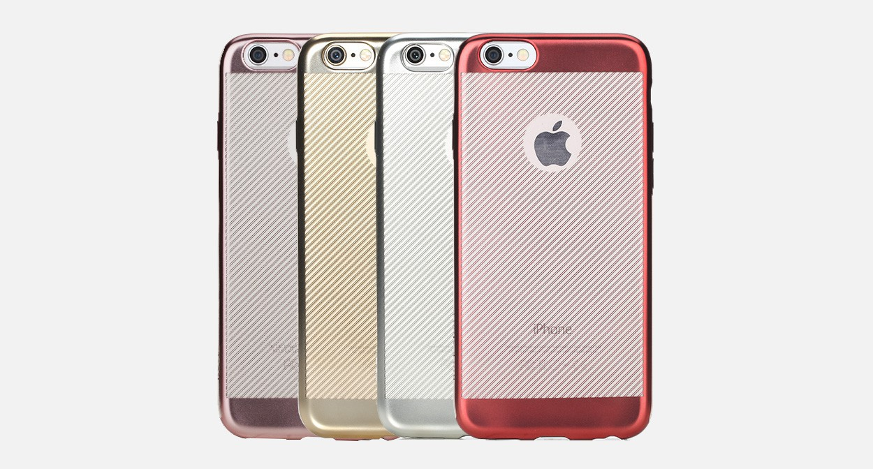 Купить TPU чехол ROCK Ultrathin Flame Series для Apple iPhone 6/6s (4.7') за 159 грн