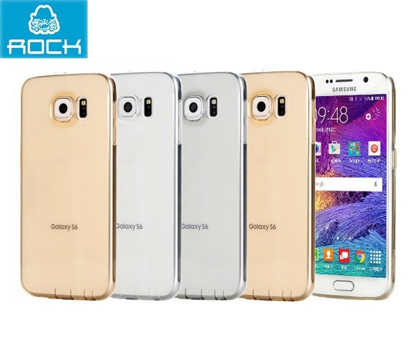 Купить TPU чехол ROCK Ultrathin Slim Jacket для Samsung Galaxy S6 Duos (G920F/G920D) за 197 грн