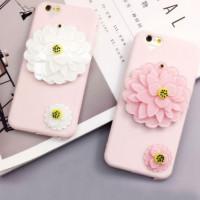 "TPU чехол с зеркалом ""Beauty flower"" для Apple iPhone 6/6s (4.7"")"