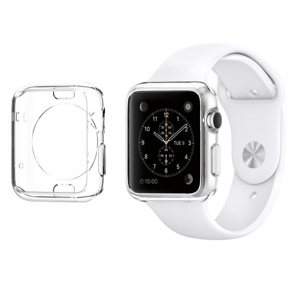 Купить TPU чехол SGP Liquid Crystal Series для Apple watch 42mm за 274 грн